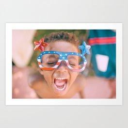 Happy Kids Art Print