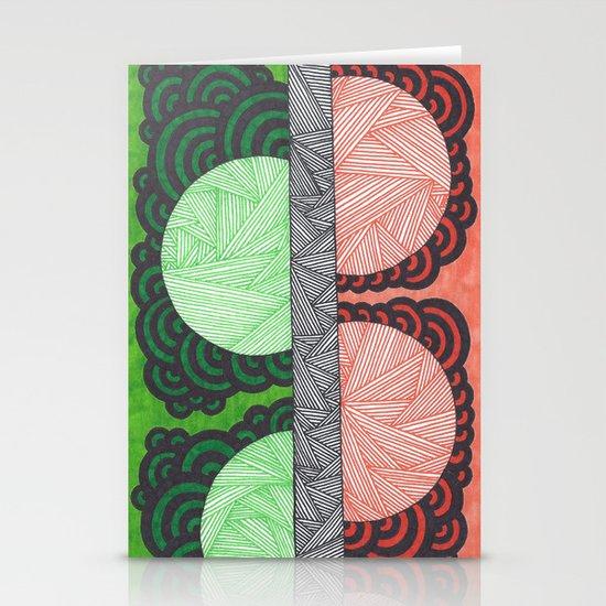 Molecular 8 Stationery Cards
