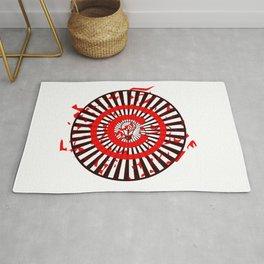 Idea Wheel Abstract Rug