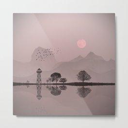 The pearl lake Metal Print