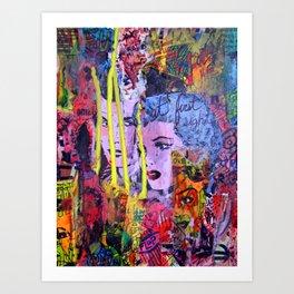 Relapse to Donnybrook Art Print
