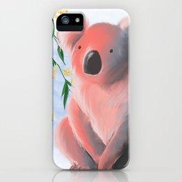 Sunset Koala iPhone Case