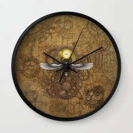 Egyptian Steampunk Wall Clock