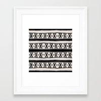 cleveland Framed Art Prints featuring Cleveland 6 by Little Brave Heart Shop