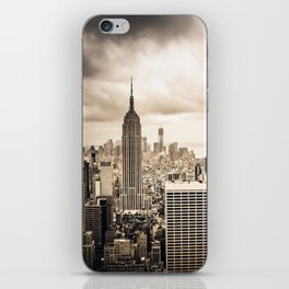 Stormy Manhattan iPhone Skin