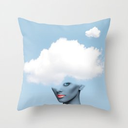 This is not a cloud Throw Pillow