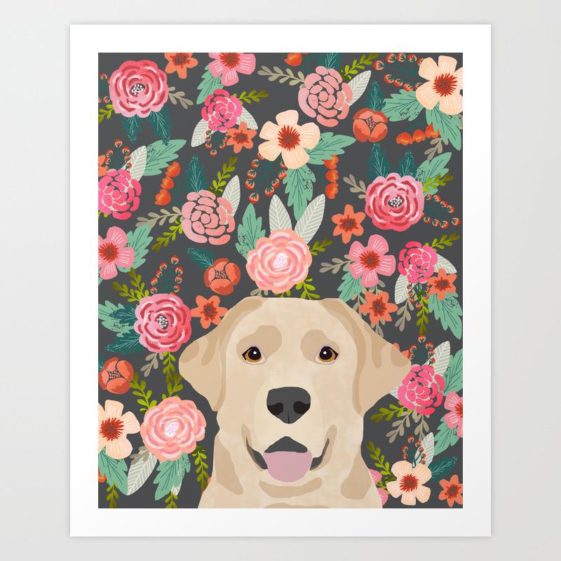 Dog Art Print Dog Wall Decor Labrador Art Yellow Lab Art Print Dog Wall Art Yellow Labrador Retriever Art Golden Lab Wall Art,Labrador