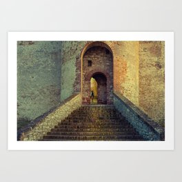 Medieval Fortress Art Print