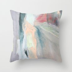 Deep Wave No. Two Throw Pillow