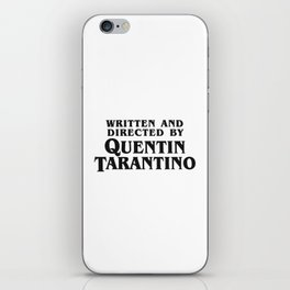 Quentin iPhone Skin