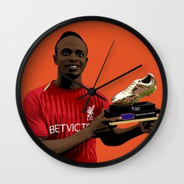 Sadio Mane Wall Clock