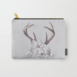 antler and magnolia Carry-All Pouch