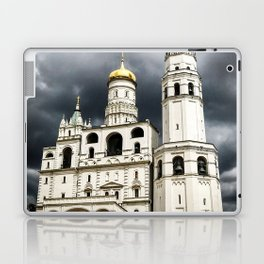 Dark clouds over Kremlin Laptop & iPad Skin