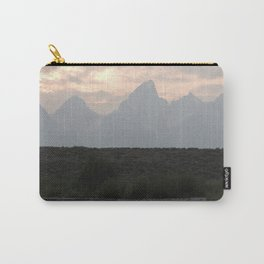 Grand Tetons by the Snake River Carry-All Pouch