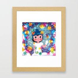 Hello Winter! Framed Art Print