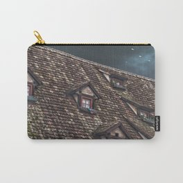 Roof of the Hotel oblique house Ulm Carry-All Pouch