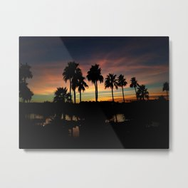 Sunset on Lake Havasu Metal Print