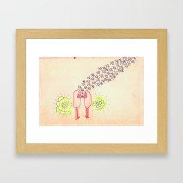 Why I love you Framed Art Print