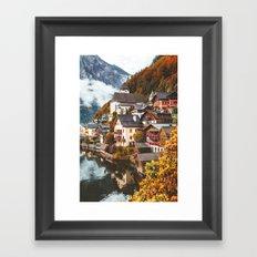 Hallstatt. Framed Art Print