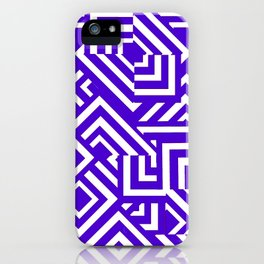 Graphically Purple iPhone Case