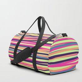 Colored Lines #4 Duffle Bag