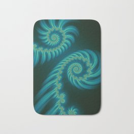 Entering the Vortex - Fractal Art Bath Mat