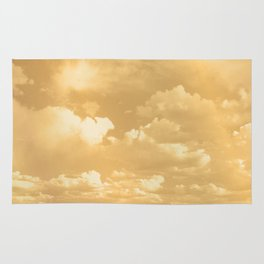 Clouds in a Golden Sky Rug