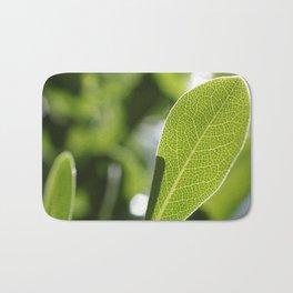 leave-leaf Bath Mat