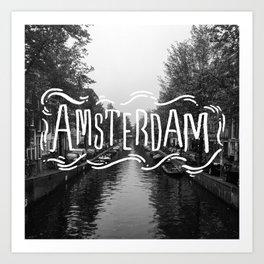 Amsterdam Haze Art Print