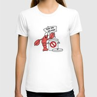 lobster T-shirts featuring Lobster by Barbo's Art