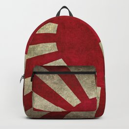 Imperial Japanese Army Ensign Flag - Vintage retro version Backpack