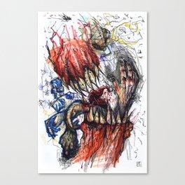 Manic Canvas Print