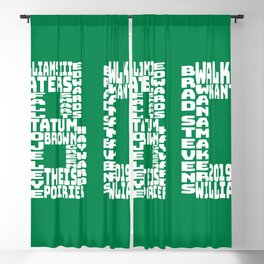 Celtics - BC - 2019 - 2020 Blackout Curtain