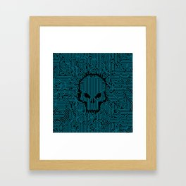 Bad Circuit Framed Art Print