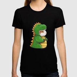 Guinea Pig in a Dinosaur Costume - Peegosaurus Rex T-shirt