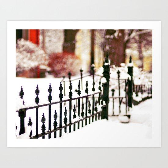 November Snow Art Print