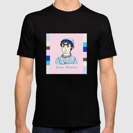 Jane Austen - hand-drawn portrait T-shirt
