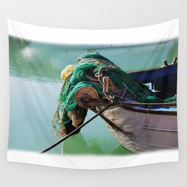 Fishing boat Wall Tapestry