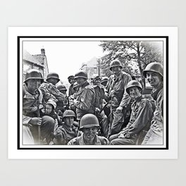 Normandy 44 Art Print