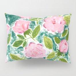 Roses in Bloom Pillow Sham