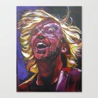 phish Canvas Prints featuring Trey Anastasio by Ray Stephenson