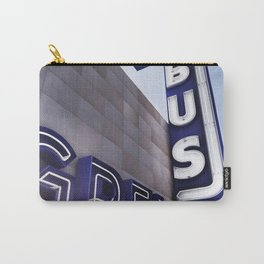 GREYHOUND BUS STATION COLOR Carry-All Pouch