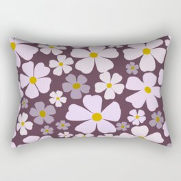 Cheery Blooms Rectangular Pillow