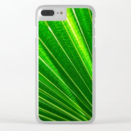 Backlit Green Clear iPhone Case