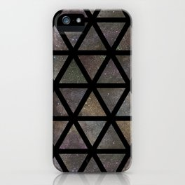 TRIANGLE GALAXY REPETITION iPhone Case