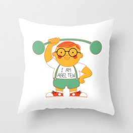 Abel Tew Year 01 Throw Pillow