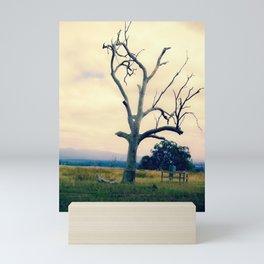 Smoky Tree Mini Art Print