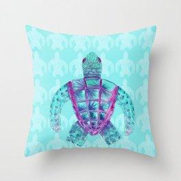 Tomas in Aqua Throw Pillow
