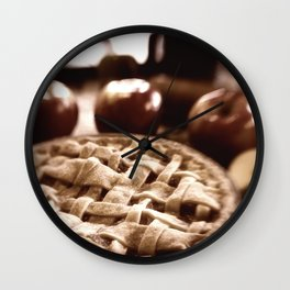 Old Fashioned Apple Pie Wall Clock