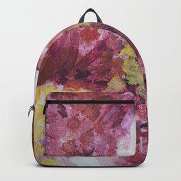 flor on canvas Backpack